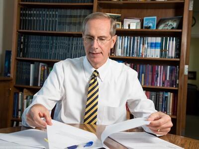 Academic Vice President Brent Webb