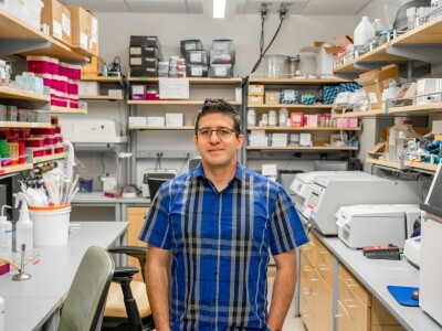MMBio Student's Virus Research Hits Close to Home