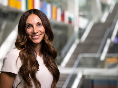 A professional portrait of Melissa F. Western, BYU associate accounting professor.