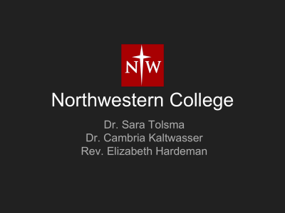 Reformed - Northwestern College