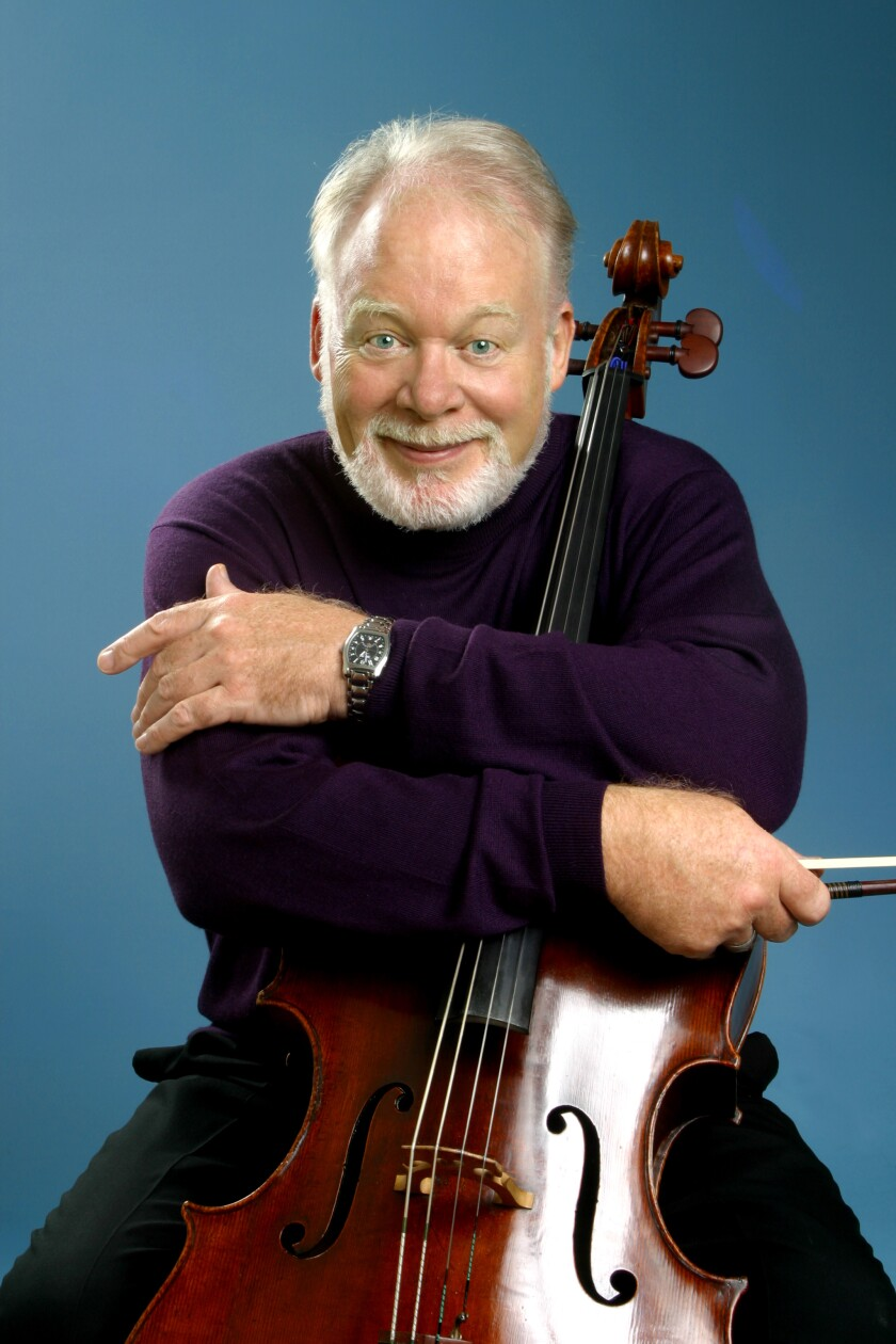 World renowned cellist Lynn Harrell will perform with the BYU Philharmonic Orchestra March 17 and 18.