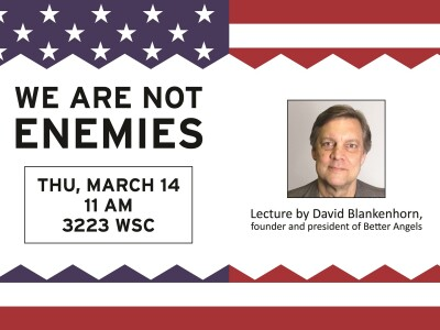 We Are Not Enemies