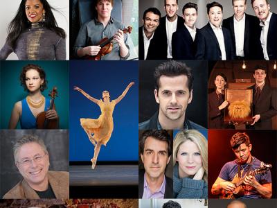 Alan Menken, Renée Elise Goldsberry, Robert Fairchild headline 'Intersections'—BYU's 2017-18 BRAVO! Professional Performing Arts Season