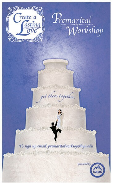 Create a Lasting Love Promo with two people on a giant wedding cake