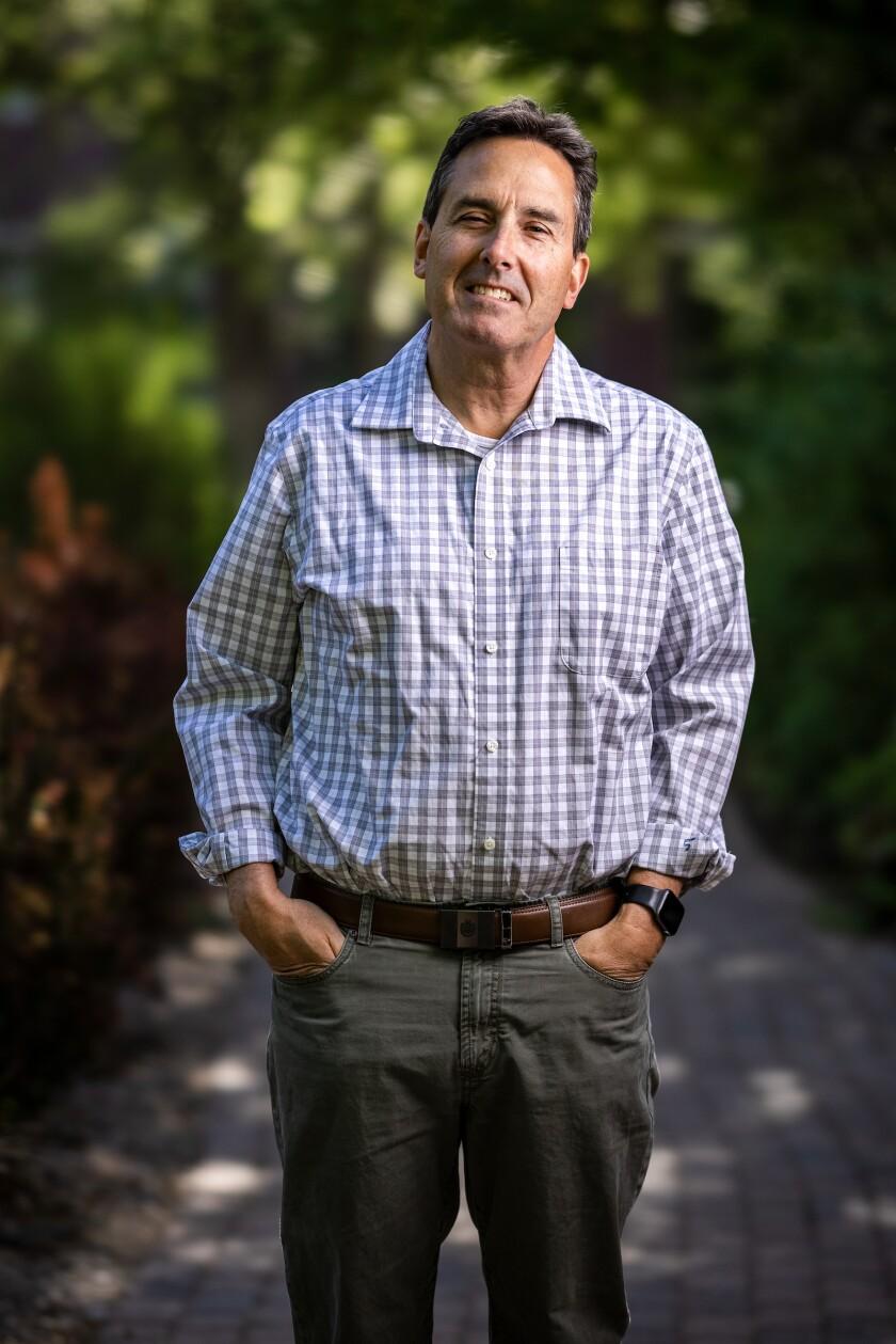 Professional portrait of BYU professor Rick Jellen.