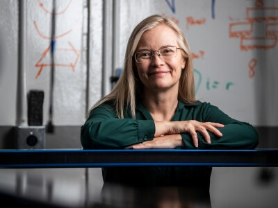A professional portrait of Traci Neilsen, BYU astronomy and physics professor.