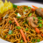 This is a photo of chow mein.