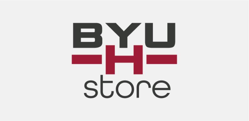 BYUH Store's vertical logo