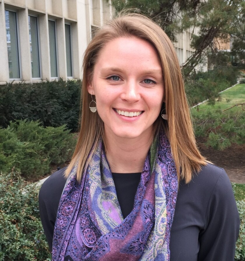 Public Health faculty recognize Lexi Sayer for her commitment, hard work, and service in her Masters of Public Health Program and the community.