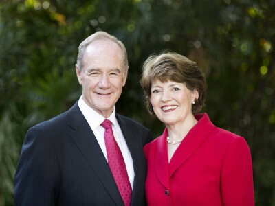 Photo of President and Sister Tanner