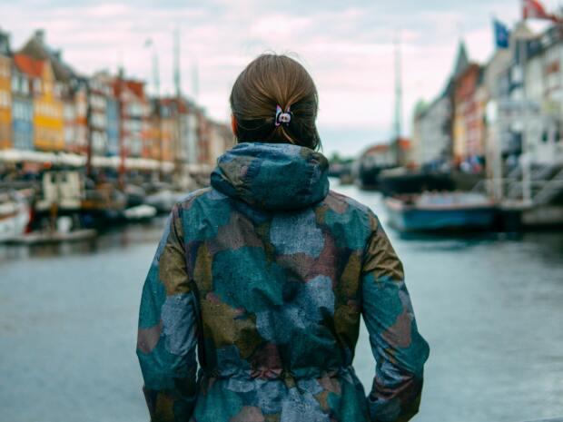 Girl in Denmark