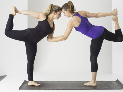 Stretching Girls