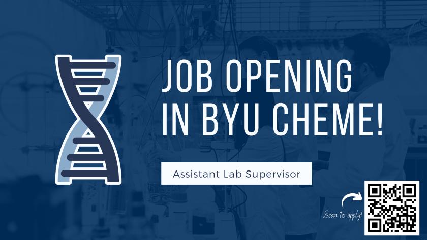 Asst Lab Supervisor - opening
