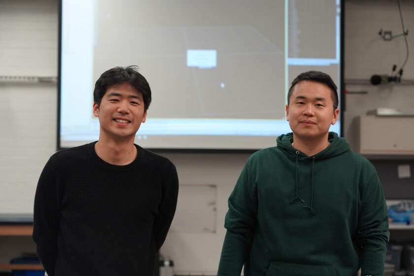 Hyunwook Lee (MS) and Seunguk Han (PhD).
