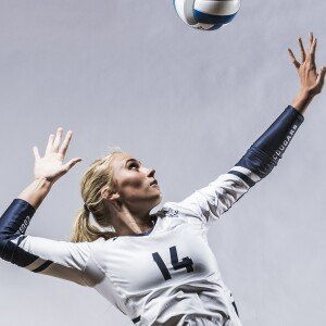 Image of BYU Women's Volleyball player.