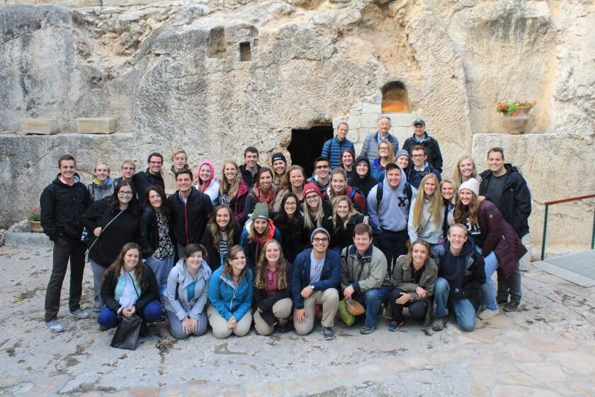 BYU  Jerusalem Center Participants