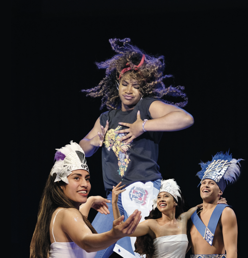 A combination of photos from Cook Islands and Afro World Chapters' performances from Culture Night in 2019.