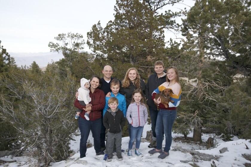 Keri Johnston and family