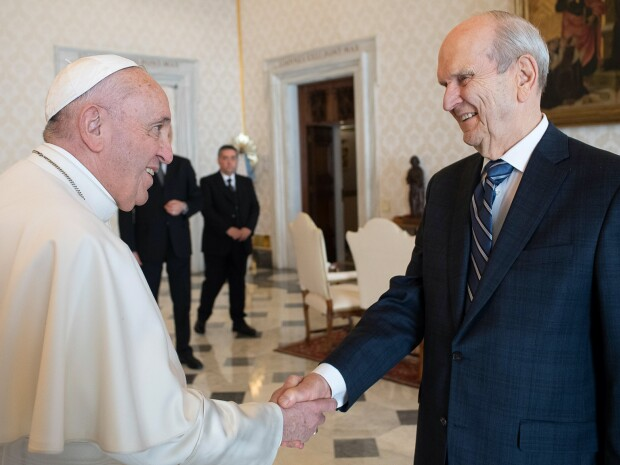 Russell M Nelson and the Pope