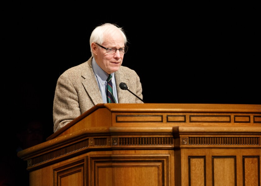 Former Chair of the National Endowment for the Humanities Jim Leach