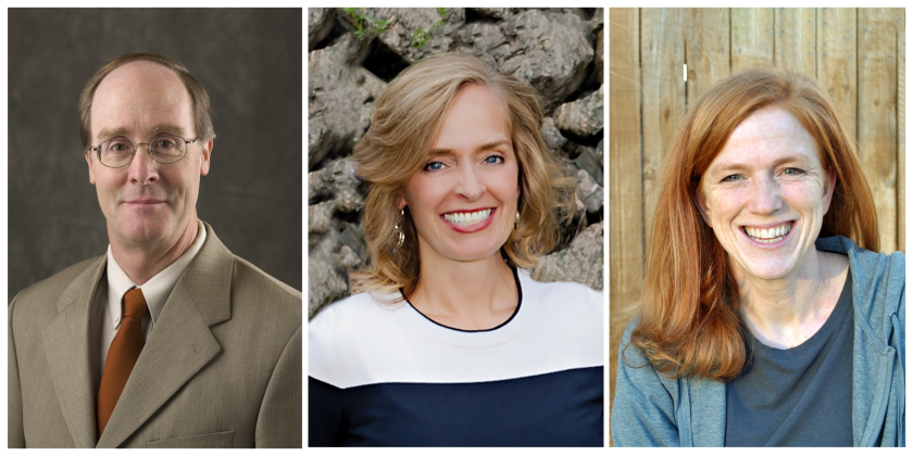 Alan Hawkins,  Kathryn Pond Sargent, and Tamara Gilliland