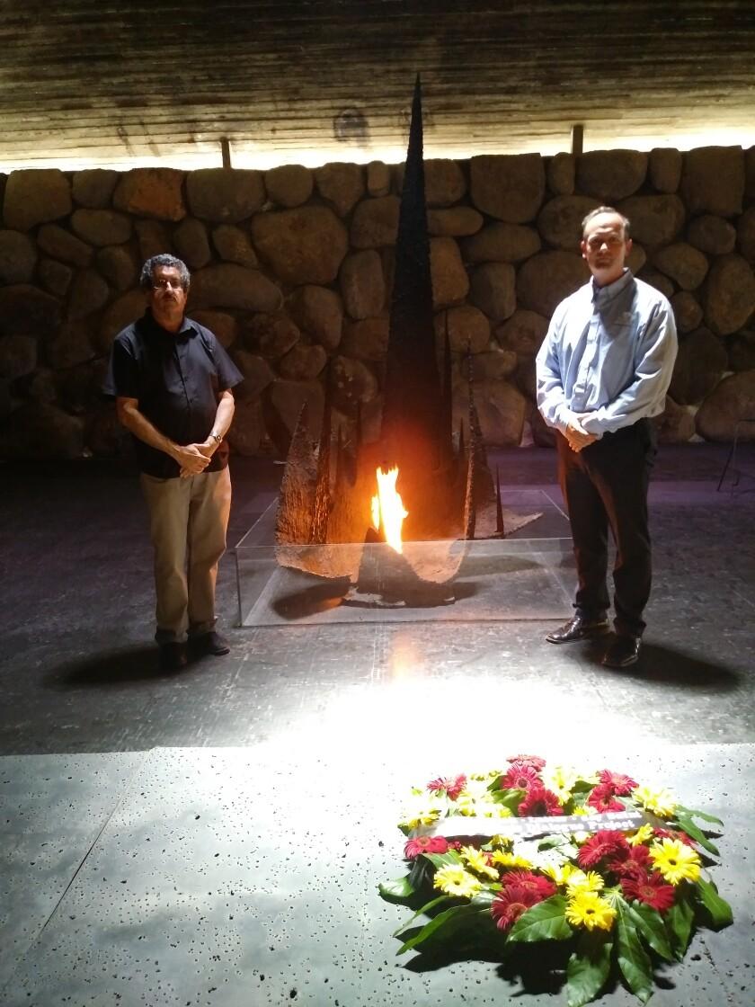 Jewish-LDS Memorial Service.Jewish-LDS Interfaith Dialogue.June 2019.Mark Diamond & Shon.jpg
