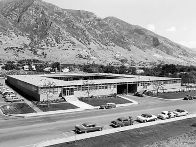 BYU Brester Building, 1962.