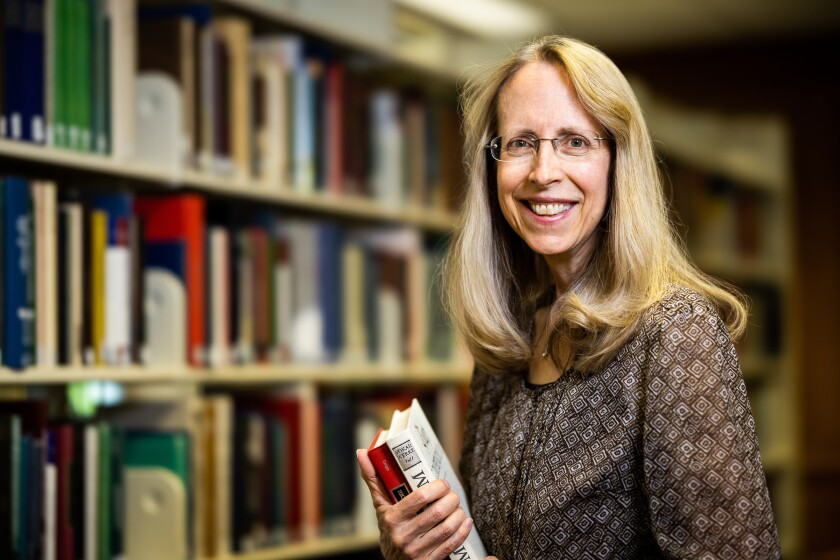 A professional portrait of Jane Birch, assistant director of the BYU Faculty Center.