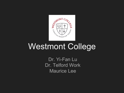 Evangelical Christian - Westmont College