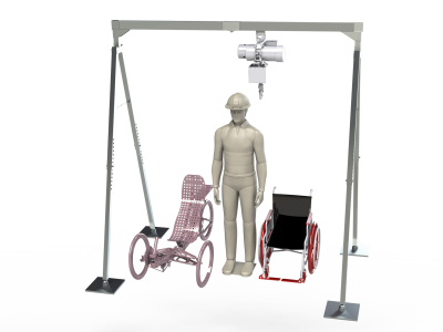 BYU Capstone team develops portable assisted person lift for the National Ability Center