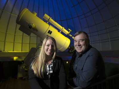 BYU uses planet-hunting satellite to observe supermassive black hole