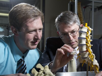 BYU engineers conceive disc replacement to treat chronic low back pain