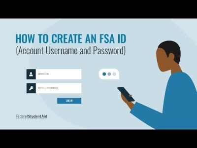 How to Create an Account Username and Password (FSA ID)