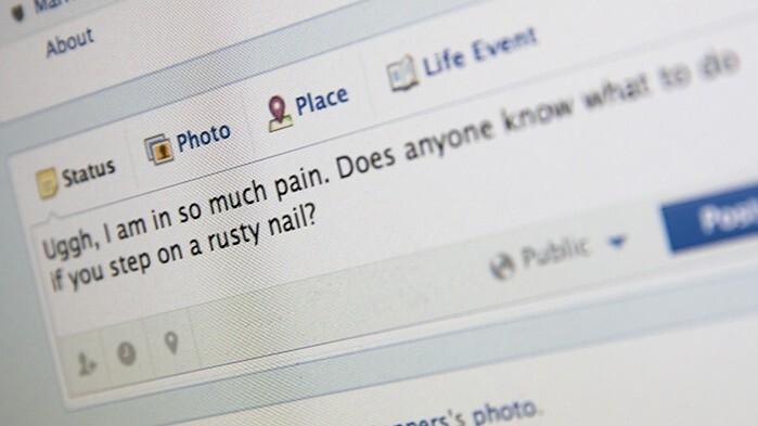 feeling sick online