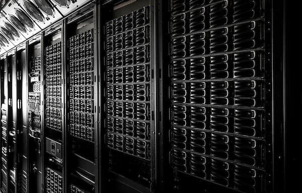 Image of Computer Servers.