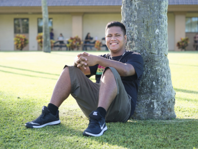BYU–Hawaii's only student from Palau says he's happy to represent his country