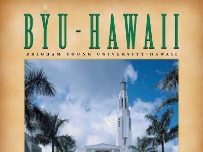 BYU–Hawaii Magazine Winter 2001