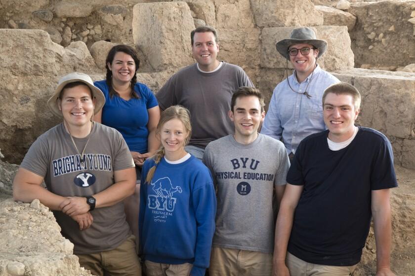 BYU Archaeology Team