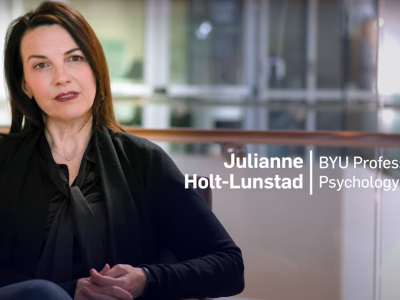 Professor Julianna Holt-Lunstad
