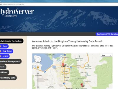HydroServer LiteWeb Client