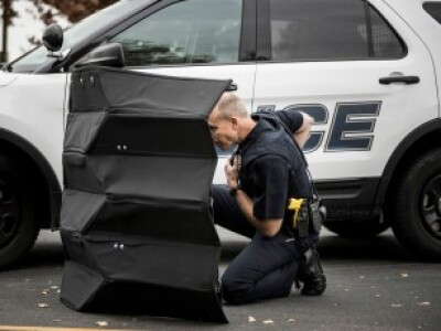 BYU engineers built a bulletproof origami shield to protect law enforcement