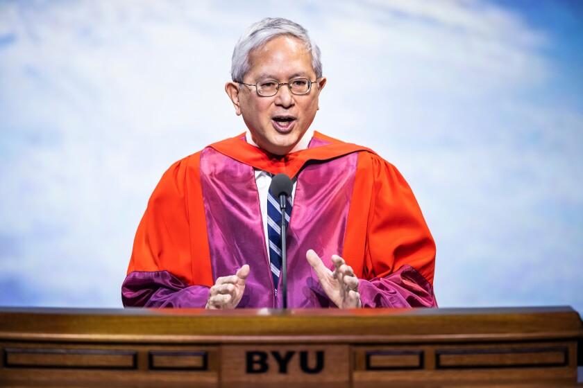 2021 Commencement Elder Gong