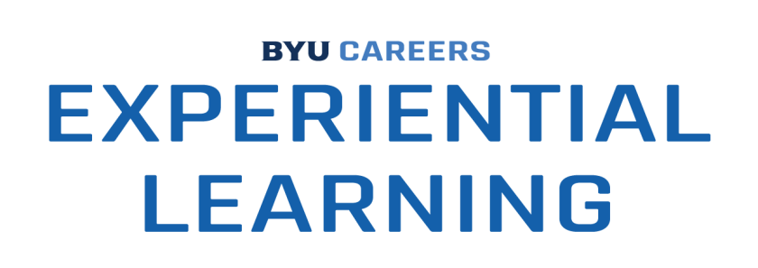 Experiential Learning (Stacked Center Logo)