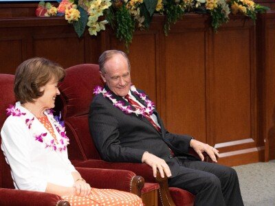 BYUH ohana bids farewell to Tanners and welcomes 11th university president