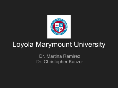 Roman Catholic - Loyola Marymount University
