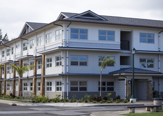 Image of student housing at BYU–Hawaii