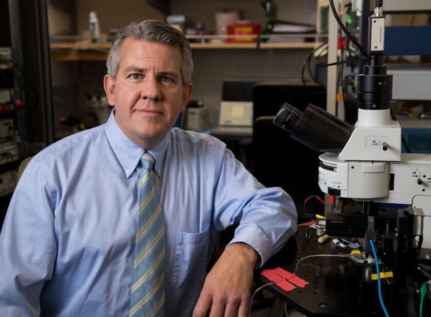 New Neuroscience Center director Jeff Edwards