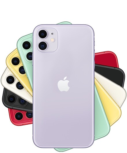 A Stack of iPhone 11 phones