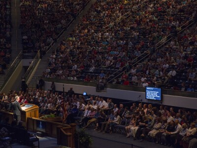 Character Building and Attitude Focus of President and Sister Worthen's Devotional Addresses