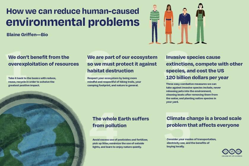 Human-caused environmental problems